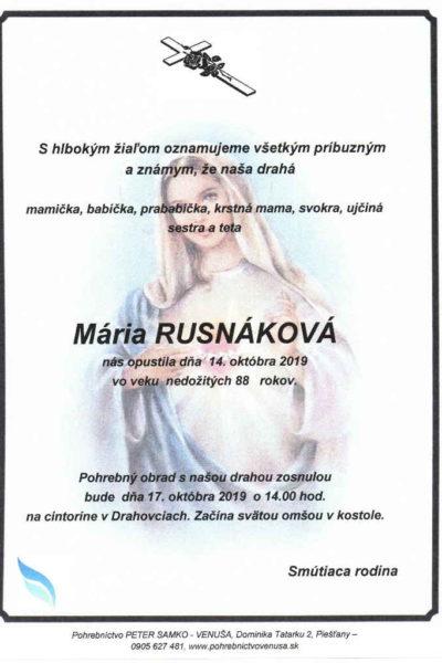 rusnakova