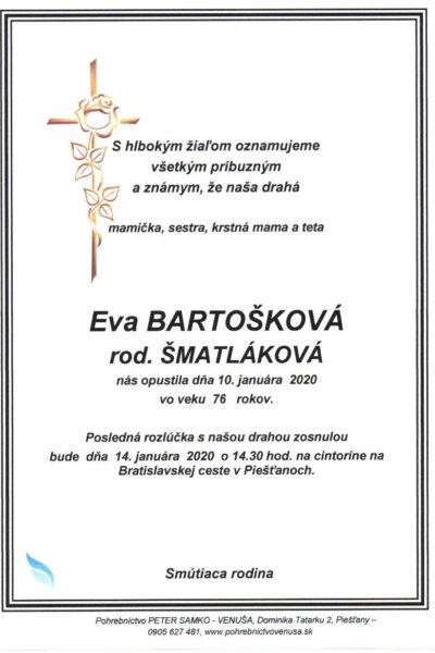 Eva Bartoskova
