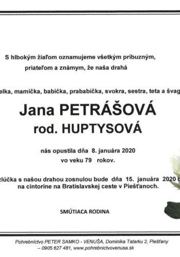 Jana Petrasova