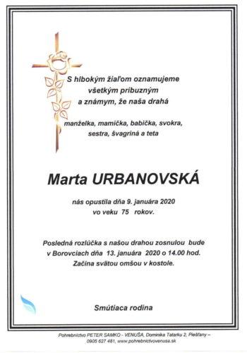 Marta Urbanovska