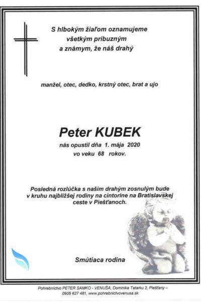 Peter KUBEK