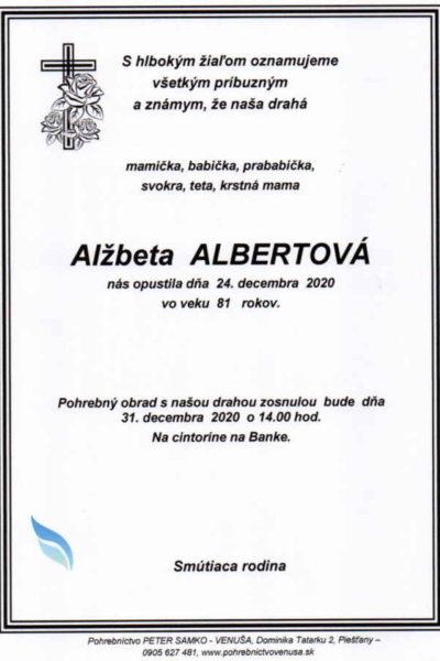 Albertová