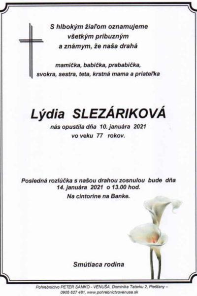 Slezáriková
