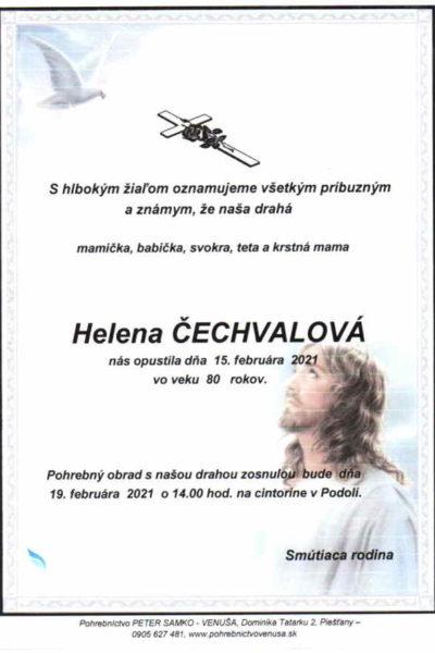 Čechvalová