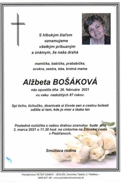 Bošáková
