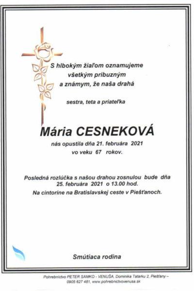 Cesneková