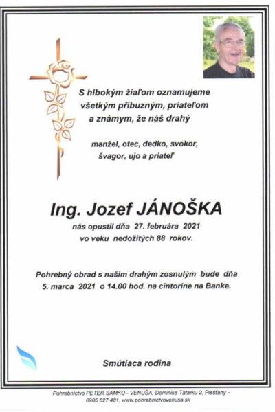 Jánoška Ing.