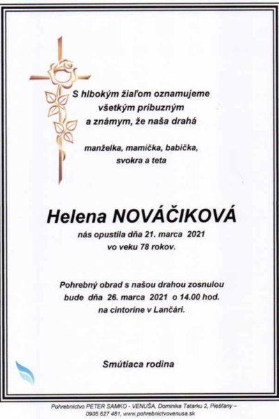 Nováčiková