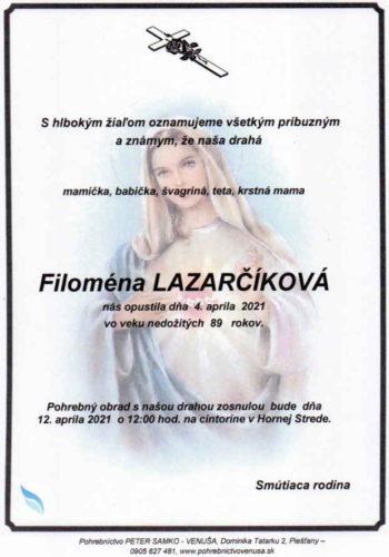 Lazarčíková