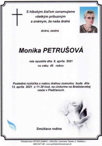 Petrušová